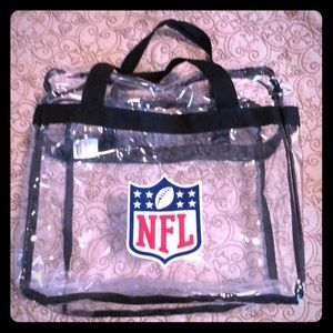Handbags - Nfl clear purse tote